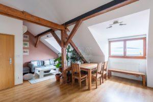 Mezonetový byt 3+kk 116 m2, ul. Drahobejlova, Praha 9-Libeň