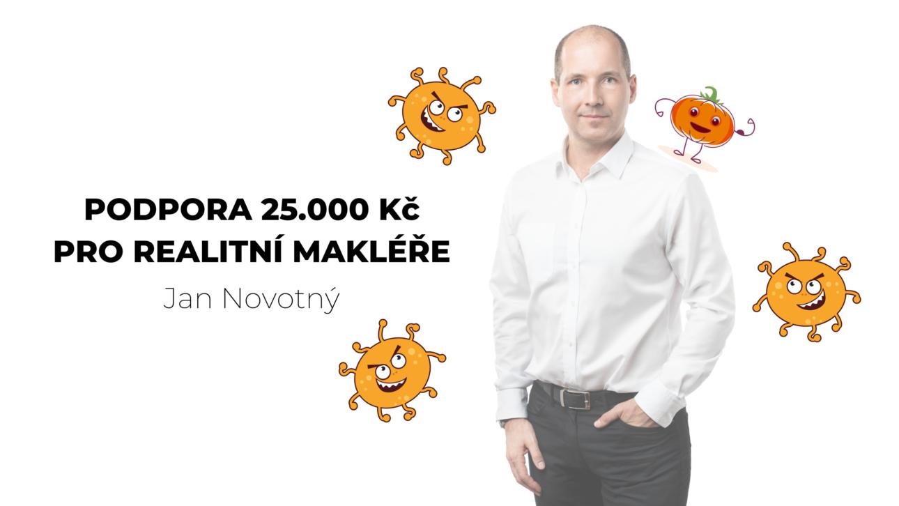 Podpora 25.000 Kč pro realitní makléře - Jan Novotný QARA