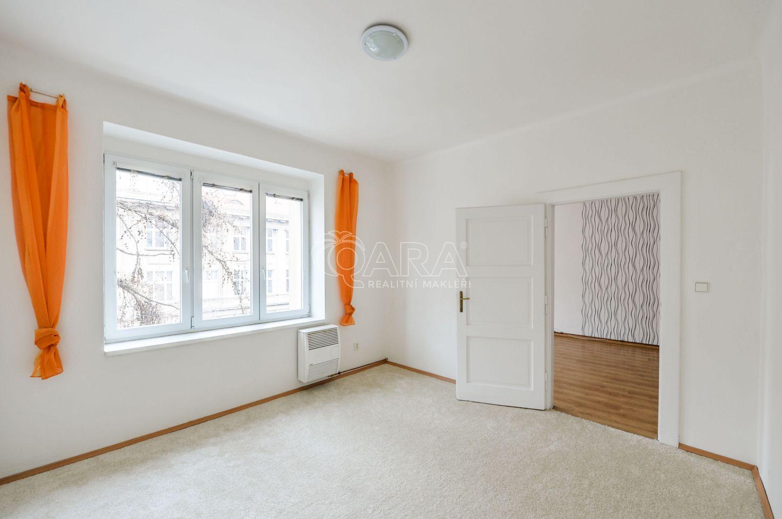 Byt 2+1 52 m2, Praha 6 – Dejvice, Zikova ul.