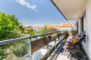 Prodej komfortního bytu 2+kk s velkou terasou, 85m2, ul. V mezihoří, Praha 8 – Libeň